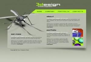 Designer Portfolio Flash Template