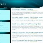 Mypress Grunge Web 2.0 Blue Free Wordpress Theme