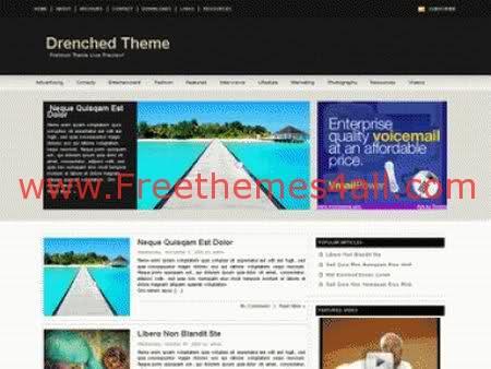 Free WordPress Design Ads Company Theme