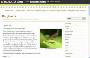 Nature Green Wordpress Theme