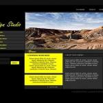 Black Yellow Flash Template