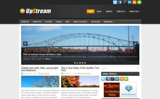 Blog Stream Free WordPress Theme