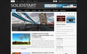 White Jquery Free Wordpress Theme