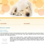 Animals Yellow Joomla Template