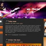 Black Music Guitar Wordpress Theme