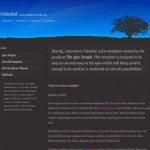 Blue Nature Website Template