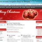 Christmas Red Free Joomla Theme