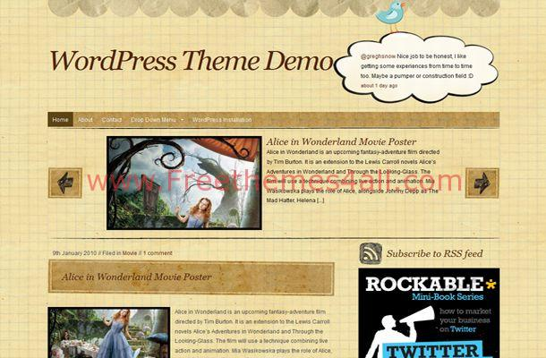 Book Business WordPress Theme