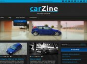 Free Auto Cars Magazine Wordpress Theme