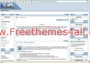 Free CMS Script MDPro CMS