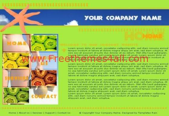 Html Sea Fish Restaurant Web Template Freethemes4all