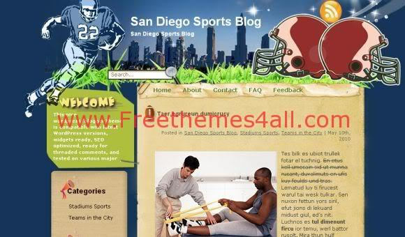 San Diego Football Club Wordpress Theme