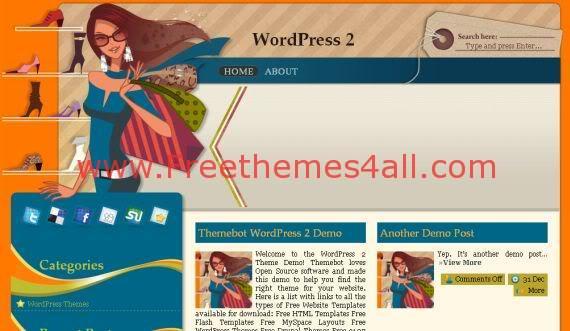 Sexy Shop Fashion Wordpress Theme Free Download