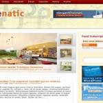 Cube Yellow Red Magazine Wordpress Theme