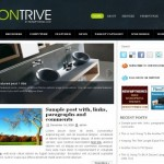 Green Blue Dark Free Wordpress Theme