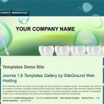 Green Dentist Joomla Theme