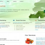 Nature Ecology Free CSS Template