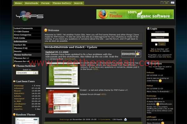 php forum templates free download freethemes4all