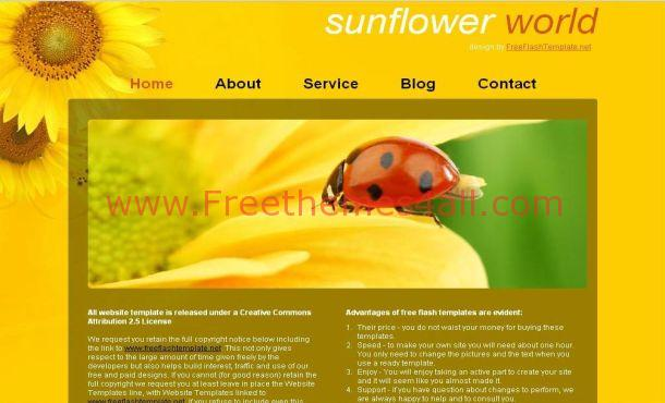 Flowers Free CSS Template
