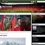 Soccer Football Blogger Template