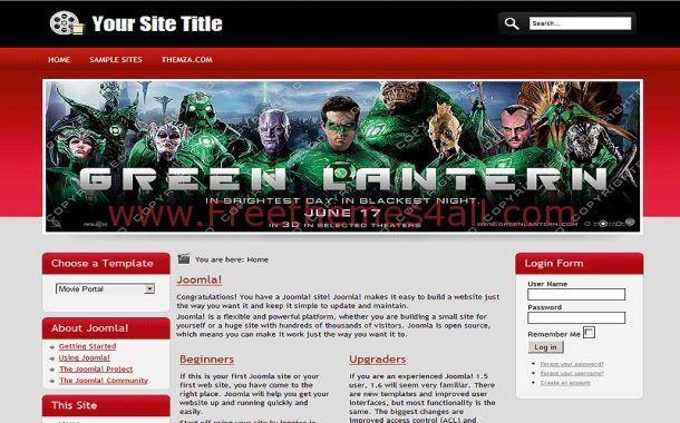 Download free erotic web templates