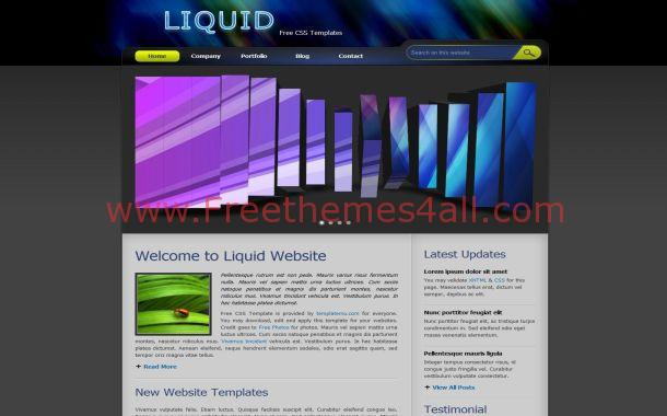 Free Jquery Abstract Business CSS Website Template