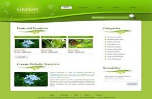 greeny-floral-grunge-css-template.jpg