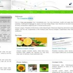 Abstract Green CSS Business Template