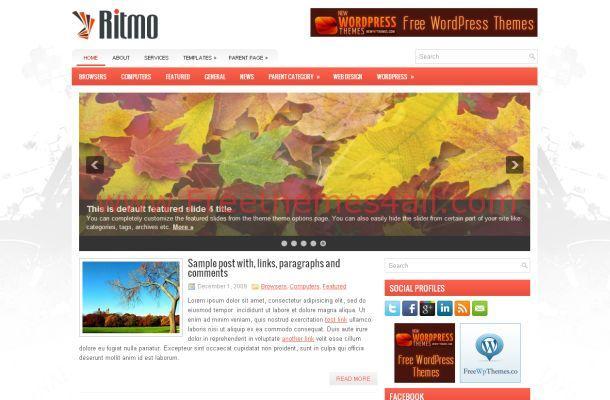 Silver WordPress Business Theme