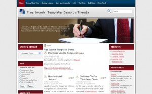 Joomla Corporate Business Template