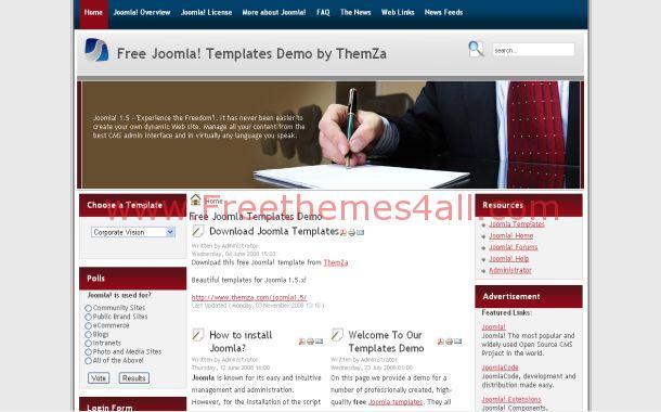 Joomla Corporate Business Template