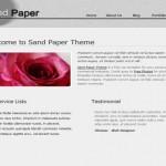 Paper Textured CSS Website Template