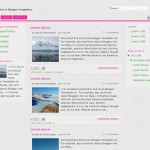 Violet Abstract Free Blogger Theme