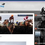 Black Horses Blogger Template
