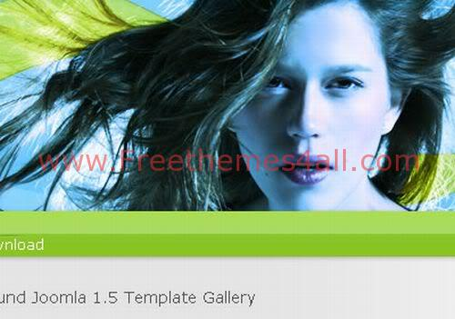 Free Joomla Celebrities Green Web2.0 Template