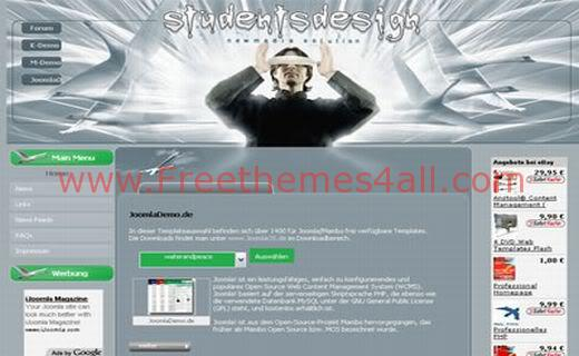 Free Joomla Design Tutorials Web2.0 Theme Template
