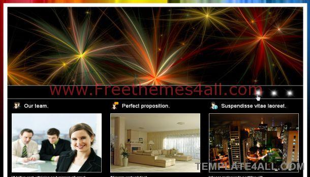 Business Black HTML Website Template