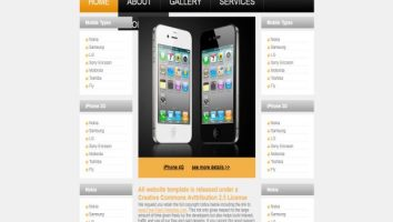 free online store mobiles website template