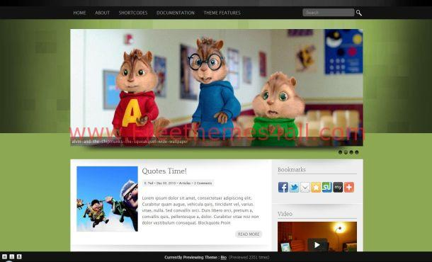Movies Kids WordPress Theme