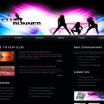 Black Music Club CSS Template