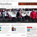 Red Gray News Blog Free Wordpress Theme