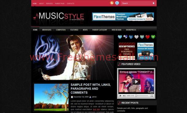 Music Wordpress Theme Download