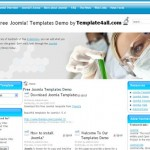Blue Free Joomla Theme