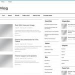Free Light Silver Magazine Wordpress Theme