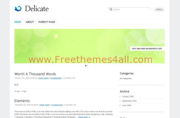 News Blog WordPress Classic Theme