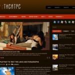 Dark Brown Theater Wordpress Theme