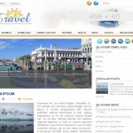 Travel Magazine Jquery Blogger Theme Template
