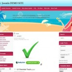 Yellow Beach Travel Joomla Template