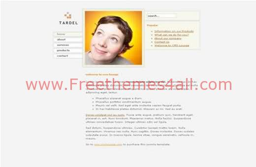 Free Joomla Light Business Web2.0 Theme Template