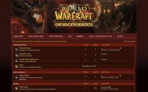 Free Php-fusion Warcraft Theme